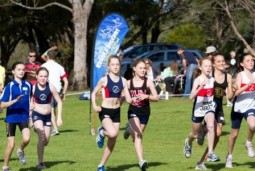 Juniors race